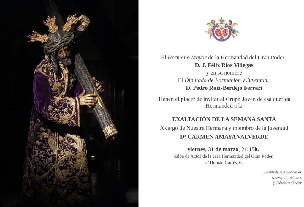invitacion pregón2017