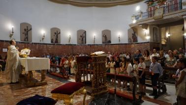 El domingo 27 de septiembre primera misa del nuevo curso dedicada a los niños