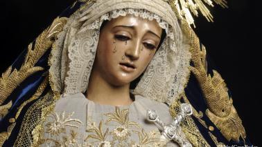 Estudios preliminares para la restauración de Nuestra Señora del Mayor Dolor y Traspaso