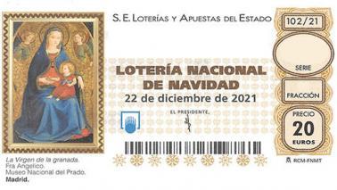 Participa en la lotería de Navidad con la Hermandad del Gran Poder